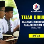 Pembukaan Pendaftaran Beasiswa S1 Pendidikan Islam Tahun Ajaran 2020/2021 di Yayasan Islam Al Huda Bogor