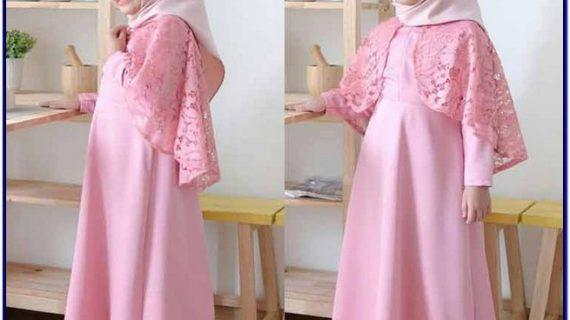 model baju gamis anak terbaru 2019