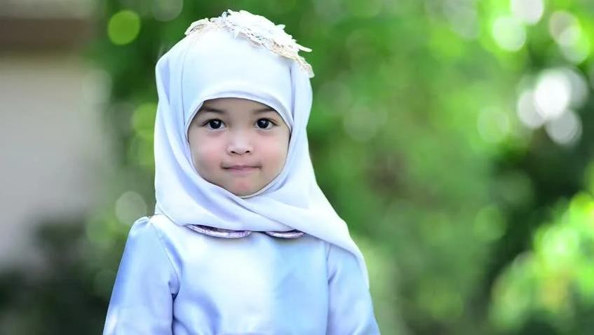 model baju muslim anak perempuan dannis